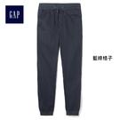 Gap男裝 簡約時尚休閒系帶束腳褲 358083-藍綠格子