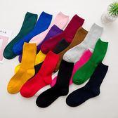 襪子女堆堆襪夏季薄款棉百搭韓國學院風日系中筒襪韓版紫色潮長襪聖誕節提前購589享85折