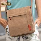 【TROOP】經典品格CLASSIC單肩包/TRP0219BN(棕色)