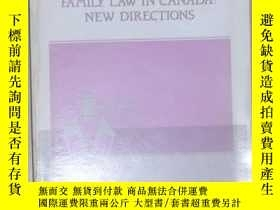 二手書博民逛書店英文原版罕見Family Law In Canada: New