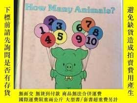 二手書博民逛書店how罕見many animals?Y218789