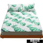 夏天學生宿舍薄褥床護墊防滑床墊加厚軟床墊床褥子墊被單人可折疊韓語空間 igo