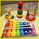 親子玩具-幼兒童嬰兒手敲琴寶寶益智音樂玩具