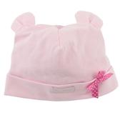 【愛的世界】熊耳反摺造型帽子/粉色-台灣製- ★用品推薦