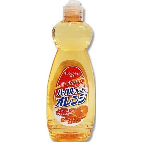 [霜兔小舖]日本製三協油脂橘子洗碗精600 ml