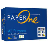【PAPER ONE】All Purpose 80P A4 (藍包)多功能影印紙(5包/箱)
