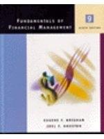 二手書博民逛書店 《Fundamentals of Financial Management with Student CD-ROM》 R2Y ISBN:0030289319│Brigham