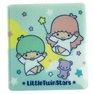 小禮堂 雙子星 塑膠折疊口罩夾 口罩包 ...