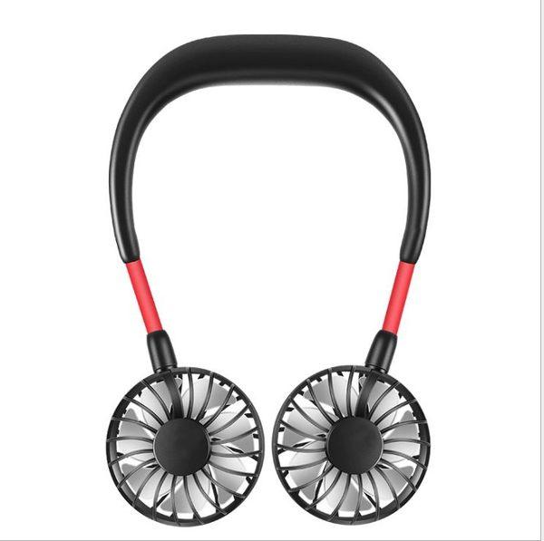 【Love Shop】韓國 掛脖子懶人運動風扇 USB 電風扇 手持風扇 迷你風扇 懶人風扇 挂脖子風扇 水冷扇