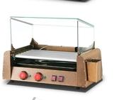 熱狗機 烤腸機 烤香腸機家用迷妳小型熱狗機全自動烤火腿腸機器LX220V 莎瓦迪卡