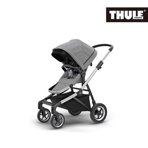 THULE-SLEEK 四輪嬰兒手推車-淺灰