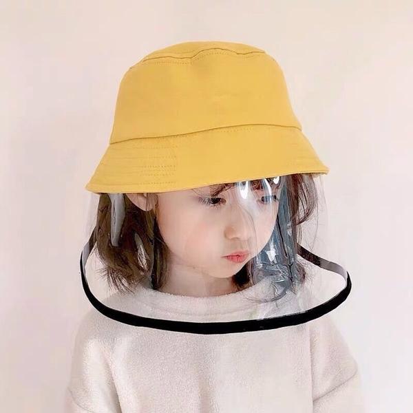 漂亮小媽咪 漁夫帽 防飛沫 防疫 面罩 防疫帽【BW1111】兒童 成人 寶寶 盆帽 遮陽 防曬 兒童帽 可拆
