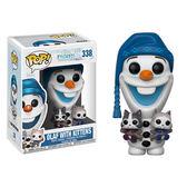 Funko POP!系列 Q版 迪士尼 冰雪奇緣 雪寶的佳節冒險 雪寶與小貓 338