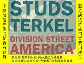 二手書博民逛書店Division罕見StreetY364682 Studs Terkel New Press, The 出版