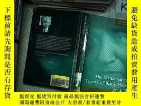 二手書博民逛書店The罕見Mathematical Theory Of Black Holes 黑洞的數學理論Y203004