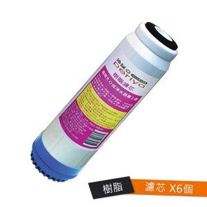 沛綠亞-樹脂濾芯6入