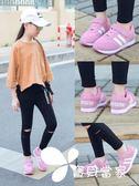 女童運動鞋新款春秋透氣網面鞋子中大童學生兒童女網鞋女童鞋