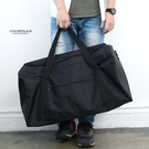 全黑素面超大容量旅行袋NZB8...