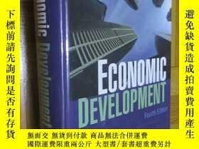 二手書博民逛書店Economic罕見Development (fourth edition) 16開,精裝Y5460 Nafz