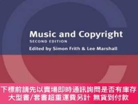 二手書博民逛書店Music罕見And CopyrightY255174 Frith, Simon (edt)  Marshal