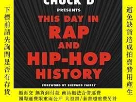 二手書博民逛書店Chuck罕見D Presents This Day In Rap And Hip-hop HistoryY2