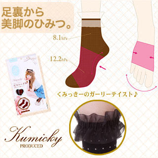 【Kumicky】舟山久美子水玉蕾絲著壓美足襪(甜美棕)