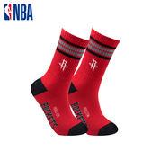 NBA 火箭隊 運動襪 籃球襪 長襪 MIT 運動配件 菁英款全毛圈刺繡長襪