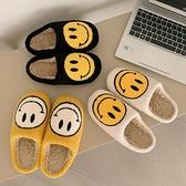 棉拖鞋女秋冬情侶居家室內可愛毛絨半包跟防滑保暖家用月子拖鞋男 童趣屋  新品