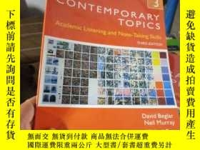二手書博民逛書店Contemporary罕見Topics 3: Academic