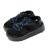 New Balance 涼拖鞋 YTTRKLB1 W Wide 寬楦 黑 藍 女鞋 大童鞋 中童鞋 魔鬼氈 涼鞋【ACS】 YTTRKLB1W