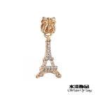 金色巴黎鐵塔串飾 潘朵拉DIY串珠