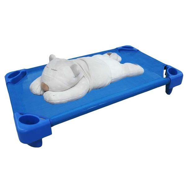 快速出貨☆ DELSUN ☆ [DELSUN 8902-1]兒童簡易睡床 小張 藍色睡床 網布睡床 寵物 DIY 台灣製造 安檢