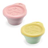 奇哥 矽膠耐熱摺疊碗/零食盒(2款可選)