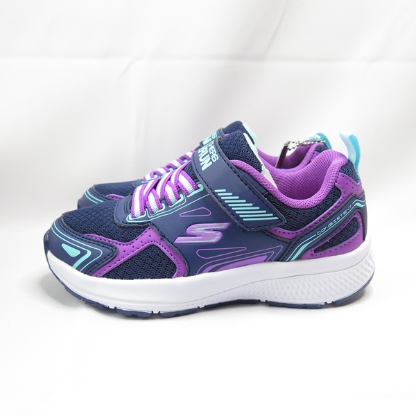 Skechers GO RUN CONSIS TENT 中童鞋 302401LNVPR 藍紫【iSport愛運動】