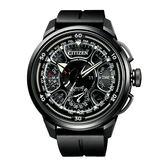 CITIZEN 鈦金屬光動能雙箭男腕錶-CC7005-16F