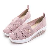 PLAYBOY 活力核心 透氣網布鏤空休閒鞋-粉(Y6262)