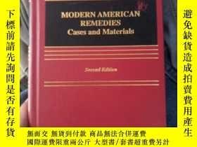 二手書博民逛書店modern罕見american remedies cases