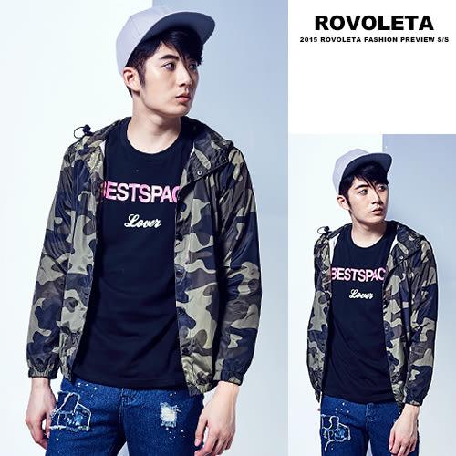情侶連帽夾克遮陽外套【EV-J052】(ROVOLETA)