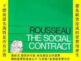 二手書博民逛書店The罕見Social Contract《社會契約論》 英文原版