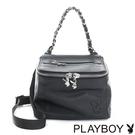 PLAYBOY- 2WAY鍊帶包 Punky playgirl系列-個性黑