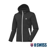 K-SWISS HS Tennis Jacket韓版運動外套-男-黑