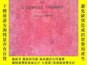 二手書博民逛書店(民國英文原版)(a罕見course in mathematic