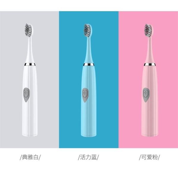 新品電動牙刷成人家用超級細毛非充電式超聲波防水自動情侶牙刷