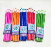 原木HB大圣鉛筆100支小學生鉛筆兒童正姿筆六角桿橡皮筆WL3693【衣好月圓】