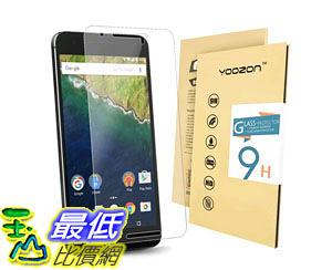 [105美國直購] 螢幕保護膜 Nexus 6P Screen protector Tempered Glass Screen Protector 0.3mm 9H Hardness Featuring B016XZLFD6