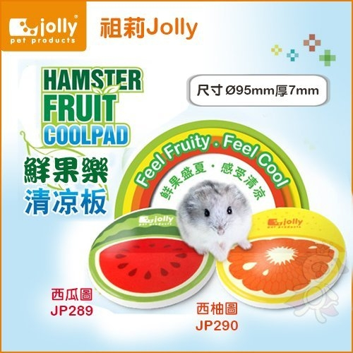 *KING WANG*Jolly祖莉《鮮果樂清涼版-西瓜圖案JP289 西柚圖案JP290》-兩種款式可選 倉鼠適用