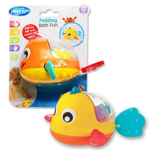 澳洲 Playgro培高 水中搖搖洗澡小魚 4086377 好娃娃