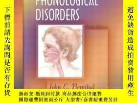 二手書博民逛書店Articulation罕見And Phonological DisordersY364682 Berntha