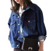 牛仔外套女春秋新款新款正韓bf風學生寬鬆長袖夾克上衣薄款短外套