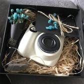 拍立得 禮盒 換購相紙  拍立得 mini7c 白色相機 粉色 立拍得mini7s升級 免運 艾維朵